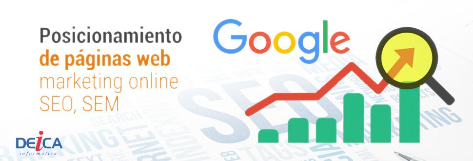 El posicionamiento SEO en Google es de los servicios más demandado en Castellón.