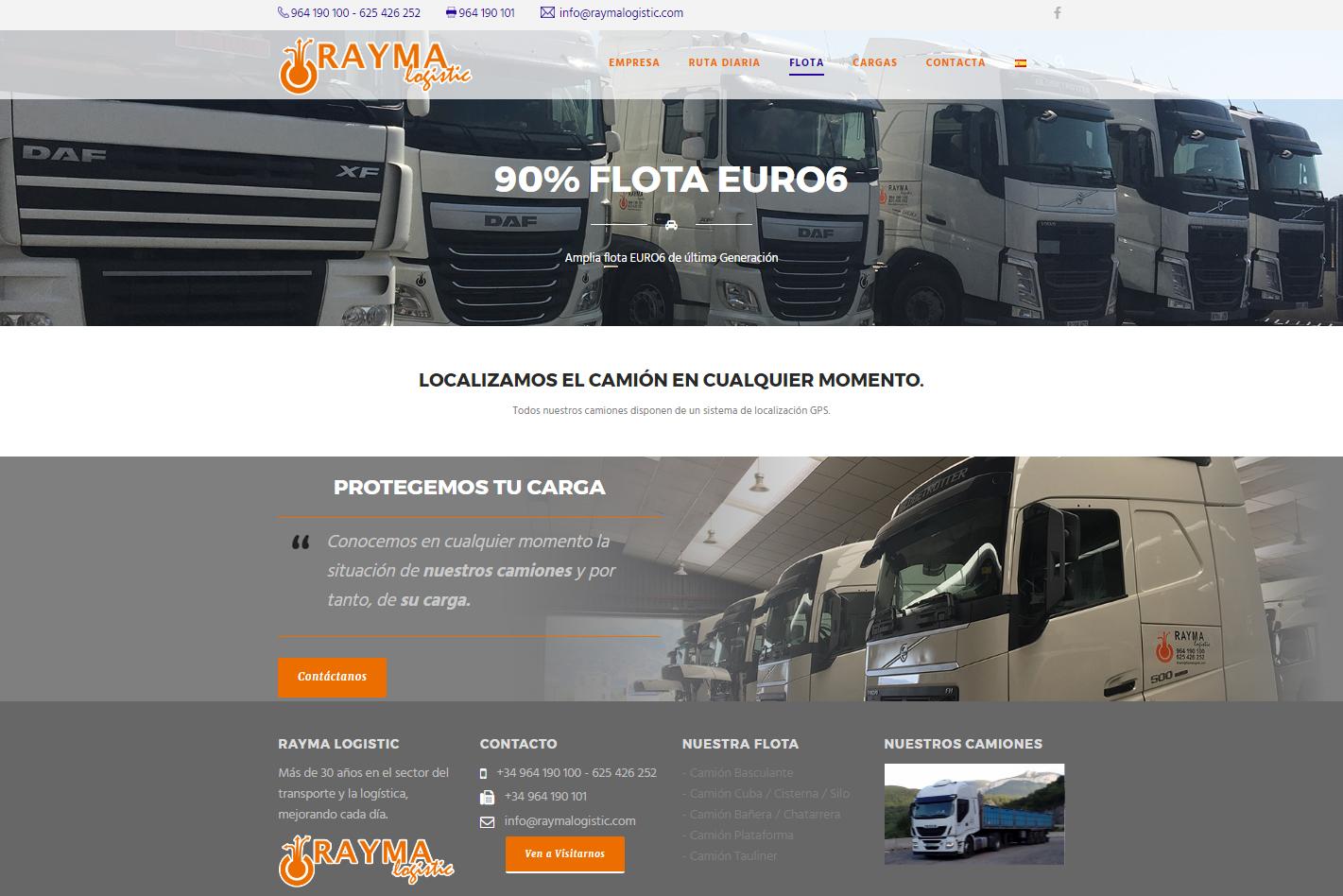 Diseño Parallax +para móvil +SEO +Autoadministrable en Castellón