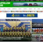 Página Web de Castellón Base con todo el Fútbol castellonbase.com